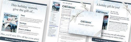 Checkbook Case Study Spread