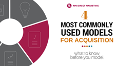 What to Know Before You Model: The 4 Most Commonly Used Models For Acquisition